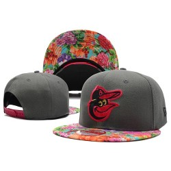 MLB Baltimore Orioles Stitched Snapback Hats 012