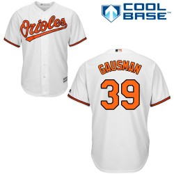 Men's Majestic Baltimore Orioles 39 Kevin Gausman Authentic White Home Cool Base MLB Jersey
